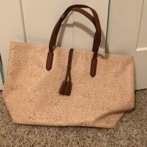 Ultra bag beige with straps
